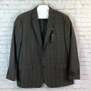 NWT Joseph&Feiss classic fit wool blend suit coat